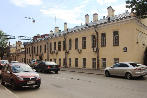 Пивоваренный завод на улице Степана Разина в Санкт-Петербурге