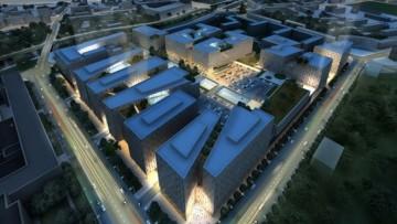 Эскизный проект комплекса «Септем-сити», представленный на градсовете
