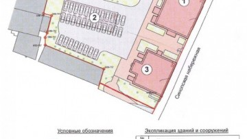 План реконструкции особняков на Синопской, 68-70