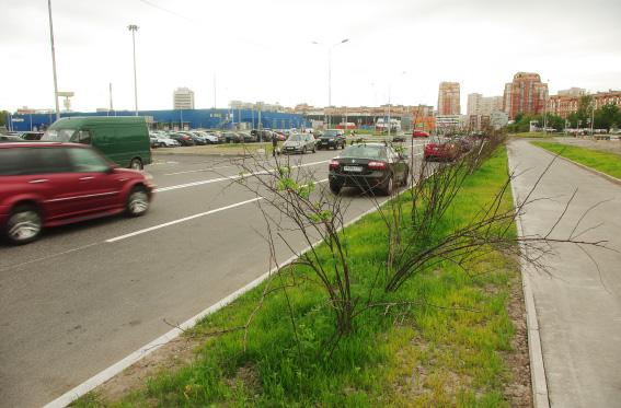 Новый участок Туполевской улицы от проспекта Сизова до Байконурской улицы