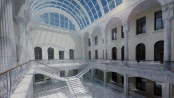 Реконструкция Дома журналиста, особняка Сухозанета на Невском проспекте, 70