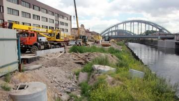 строительство полутоннеля на Обводном канале