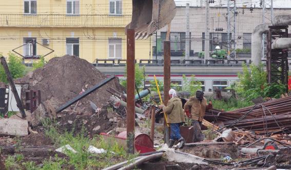 Снос котельной на улице Академика Лебедева, 37, литера Б