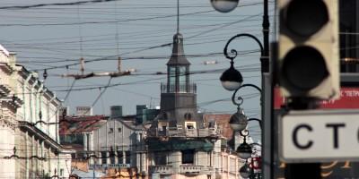 Дом Бернштейна на Каменноостровском проспекте, 54, башенка