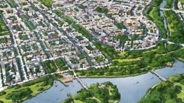 Проект города-спутника Южный под Пушкином