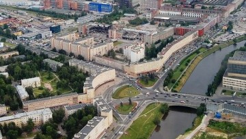 Снос заводского цеха на Магнитогорской
