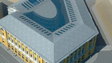 Проект реконструкции здания МВД