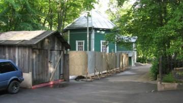 Строительство церковно-приходской школы в Шувалове