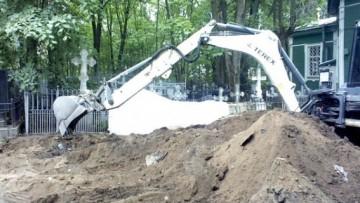Стройка «антиболотной» школы на Шуваловском кладбище