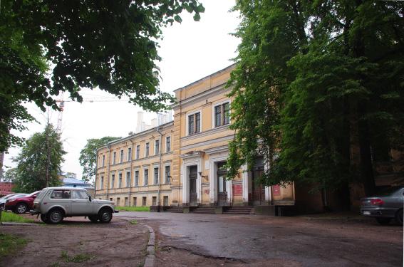 Здание анатомического института императорской медико-хирургической академии