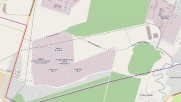 Улица Новые Заводы. Карта