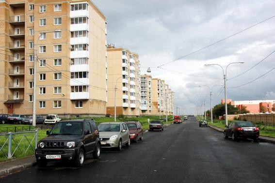 Красногородская улица в Красном Селе