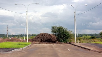 Перекресток Красногородской и Родниковой улиц