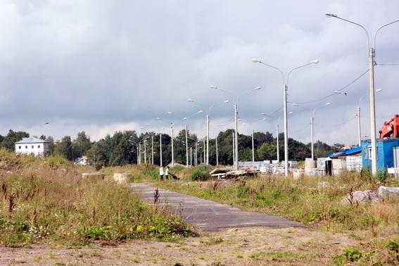 Строительство Родниковой улицы в Красном Селе