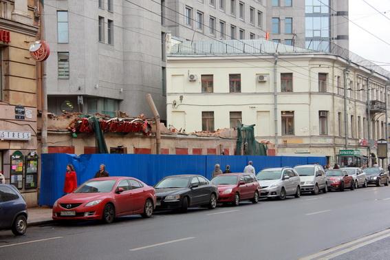 Дом Рогова снесли