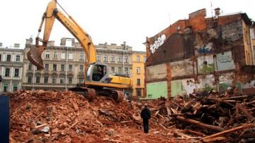 Снесли дом Рогова