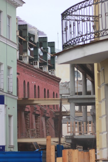 Строительство Александринки-2
