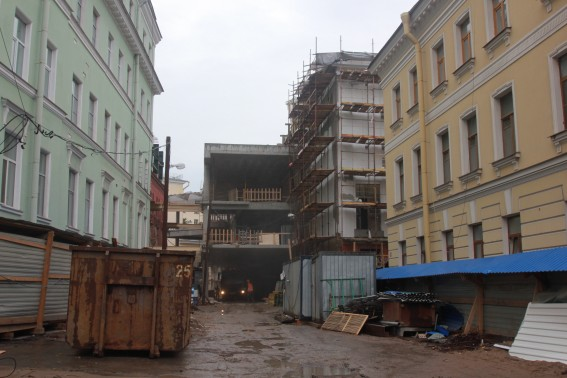 Строительство второй сцены Александринки