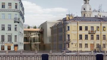 Проект Александринка-2. Вид с Фонтанки