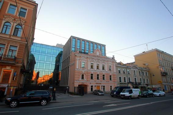 Лиговский проспект, 13-15, бизнес-центр на месте дома Шаврина