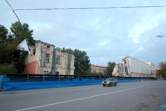 Улица Гастелло, 16, снос общежития ГУАП, Университета аэрокосмического приборостроения