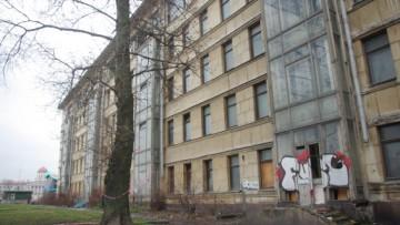 Историческое здание на территории ГИПХа, площадь Академика Лихачева