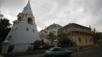 Надстройка здания возле церкви «Кулич и Пасха» на Обуховской Обороны