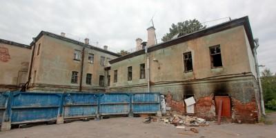 Набережная Обводного канала, 62, Дом культуры имени 10-летия Октября, пожар
