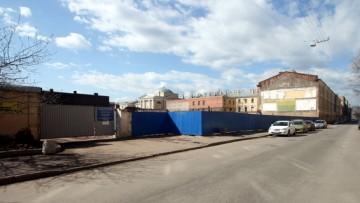Снос мебельной фабрики на Красноармейской улице