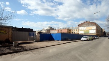 Снос фабрики на Красноармейской улице