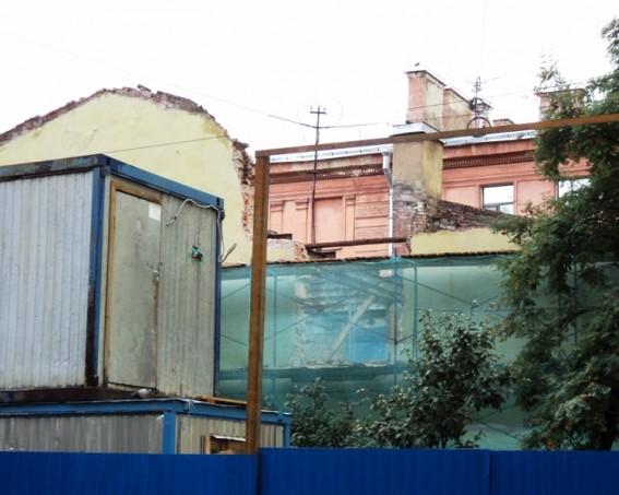 Снос особняка Шорохова на Большой Пушкарской улице, 32