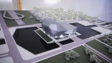 Проект театра песни Аллы Пугачевой на острове в устье Смоленки