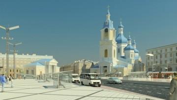 Спас на Сенной площади, проект воссоздания