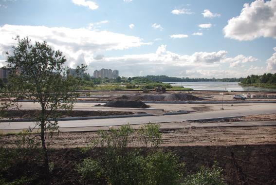 Строительство Суздальского шоссе
