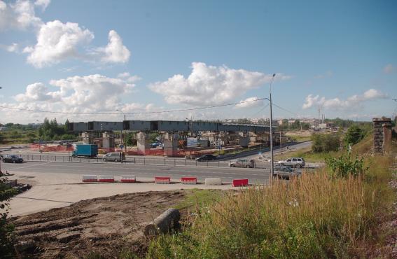 Строительство Суздальского шоссе и путевопровода