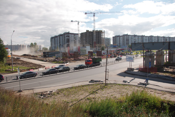 Строительство Суздальского шоссе и путевопроводов