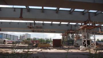 Суздальское шоссе. Строительство путепровода