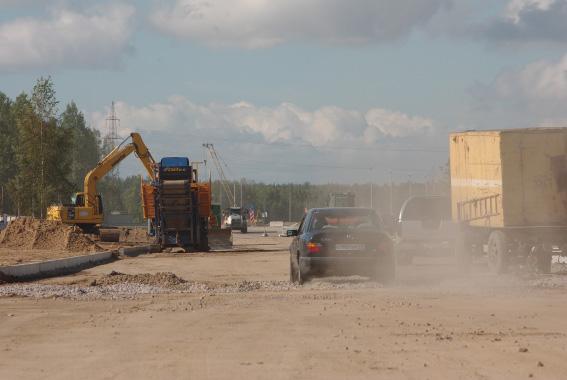 Строительство Суздальского шоссе и путевопроводов к 2013 году