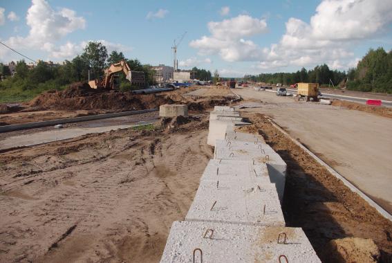 Строительство Суздальского шоссе к 2013 году