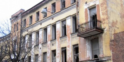 Улица Рылеева, 7, вид с Артиллерийской улицы