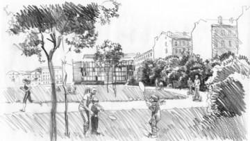 «Сад брандмауэров»— дворы Капеллы