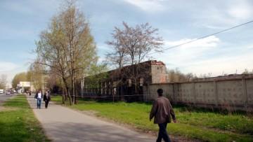 Снос завода Баррикада
