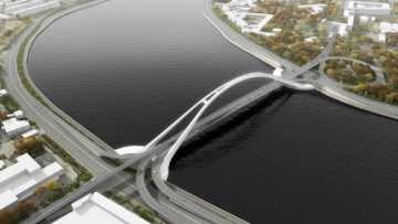 Феодосийский мост. Проект