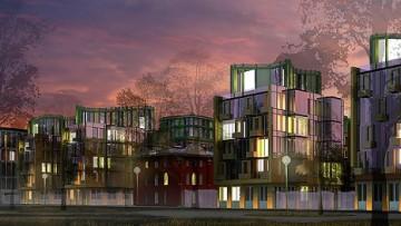 Реконструкция зданий Военно-транспортного университета у Театральной площади. Проект