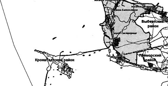 Границы Курортного района