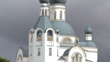 Храм в Лигове. Проект