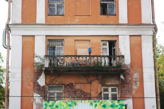 Балкон «Сталинки» на Липовой аллее, 15