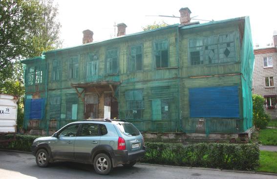 Дом Шнейдер в Песчаной переулке, 9