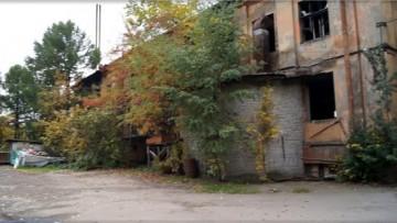 Заброшенная фабрика на Поклонной горе