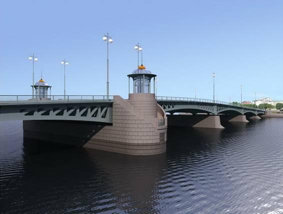 Одобренный проект Ново-Адмиралтейского моста